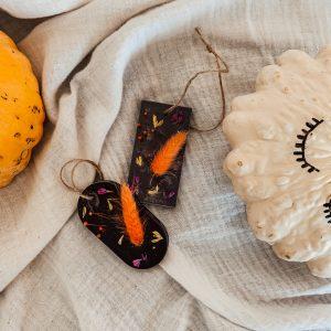 Tablette parfumée fleurie – Version Halloween