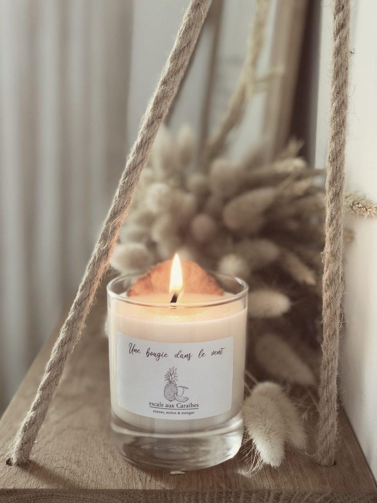 Les bougies parfumées pour une ambiance cocooning