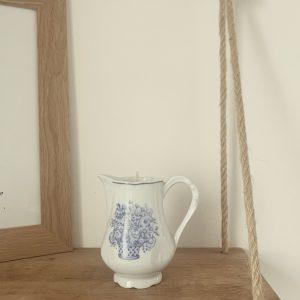 Pot à lait bleu – Désert suave