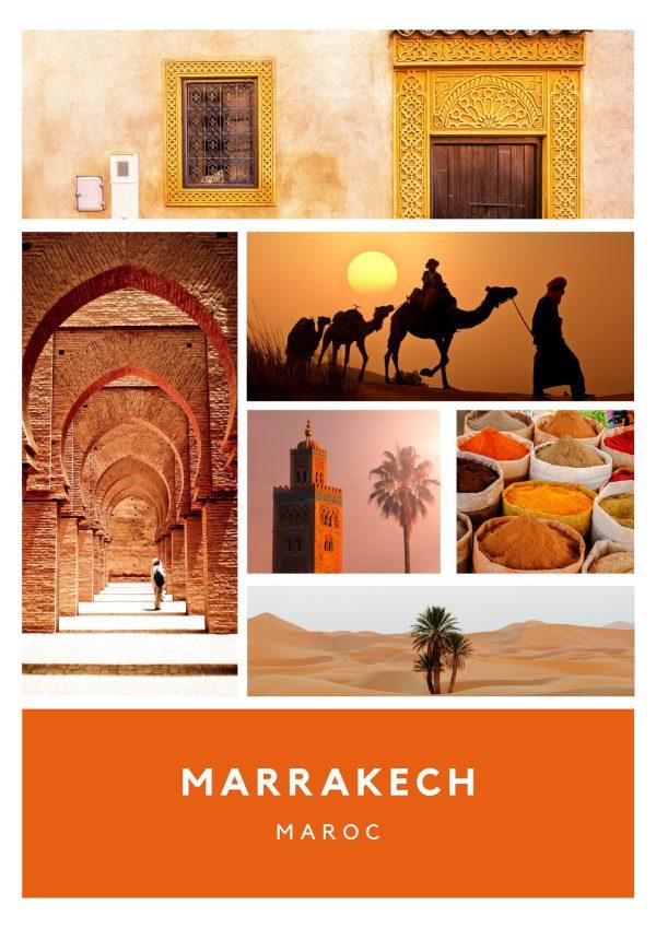 La bougie MARRAKECH, à l'odeur de fleur d'oranger, vous ravira pour un voyage enivrant en direction du Maroc et de ses sublimes médinas.