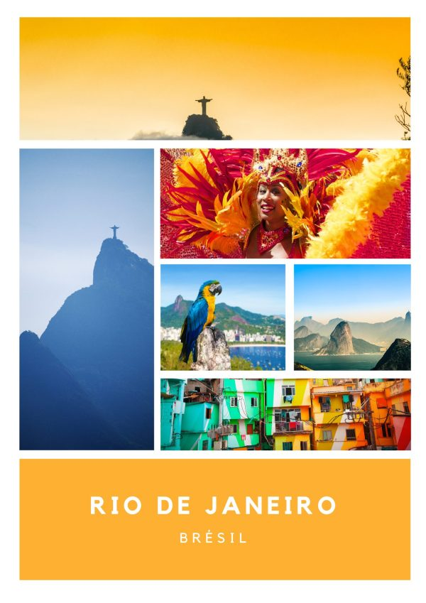 La bougie RIO DE JANEIRO, grâce au parfum gourmand et sucré de la goyave, vous accompagnera au coeur d'un voyage dépaysant et haut en couleurs.