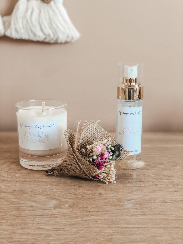 Cette box laissera entrer la douceur du printemps dans votre intérieur. Vous pourrez y découvrir de jolies surprises pour une expérience olfactive captivante.